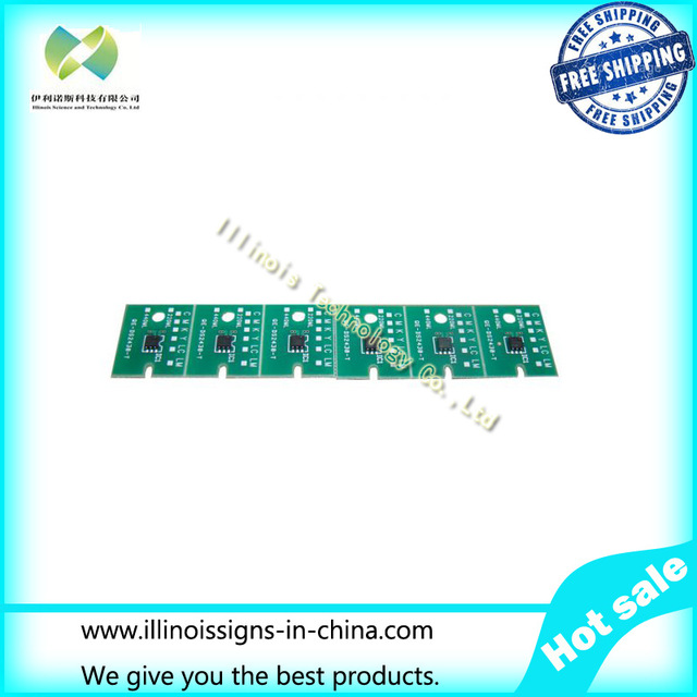 One-time Chip for Mimaki JV33 SS21 Cartridge 6 colors CMYKLCLM