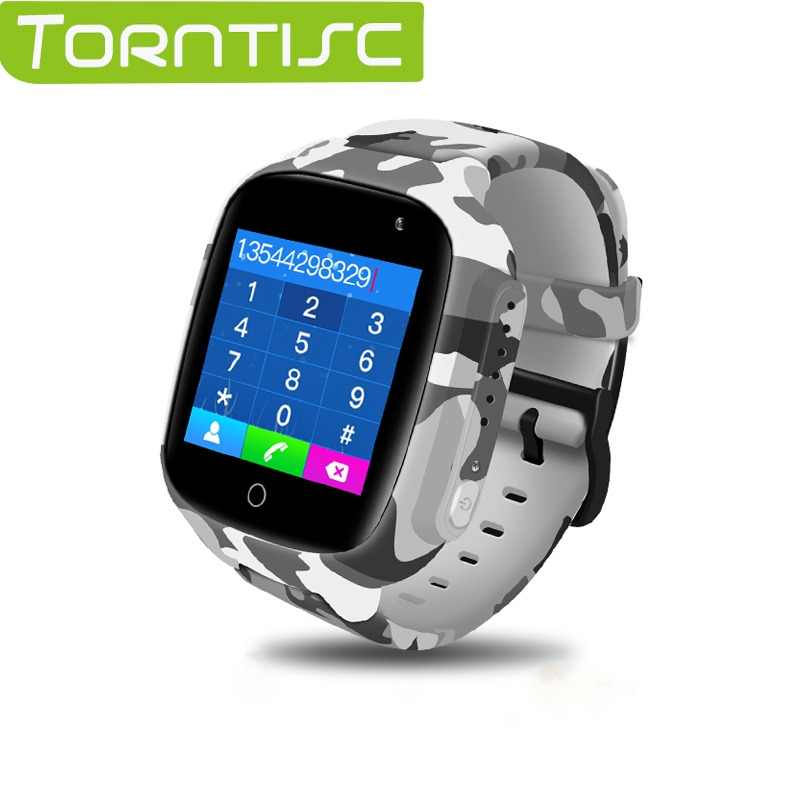 Torntisc Kids Smart Watch Colorful Screen GPS WIFI SOS one-click Call Location 600 Mah Anti Lost Monitor Kid smartwatch