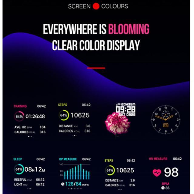 waterproof smartwatch heart rate monitor 5