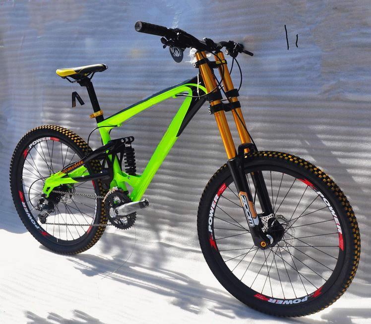 Wonderlijk Legering 165mm reizen DH mountainbike 20mm hubs downhill fiets 26 LB-49