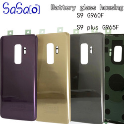 10pcs/lot Back Glass Replacement For Samsung Galaxy S9 G960 G960F / S9+ S9 Plus G965 G965F Battery Cover Rear Door Housing