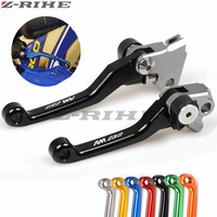 For Suzuki RM 250 2004 2005 2008 CNC Dirt Bike Clutch Brake Motocross Off Road Pivot
