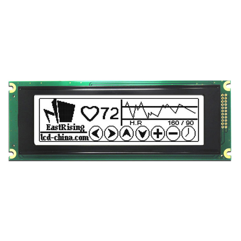 new 240x64 24064 Dots Graphic LCD Module Display w/T6963 Controller White Backlight цена