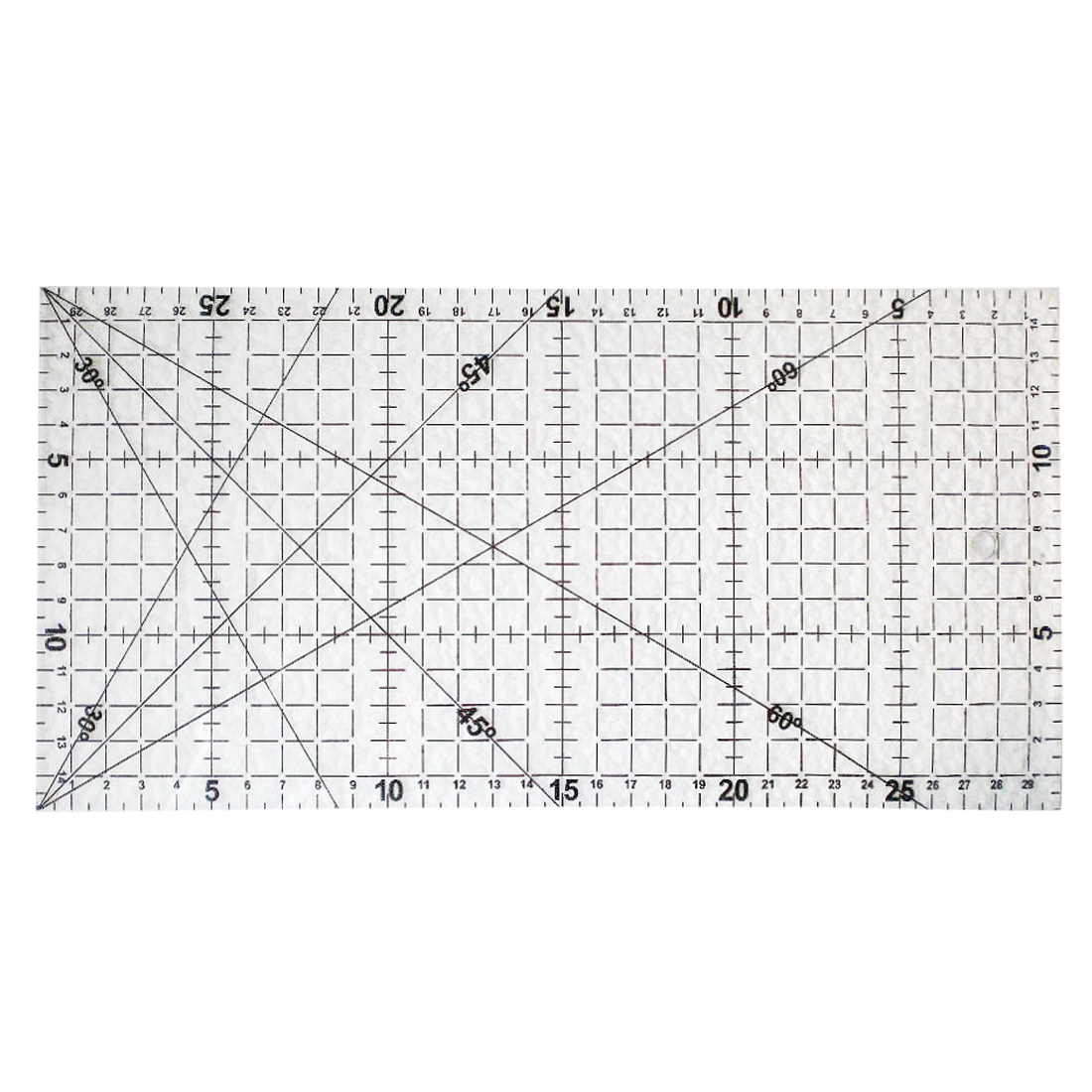 FangNymph Transparent Square DIY Acrylic Patchwork Aligned Ruler Grid Cutting Craft Scale Rule Drawing Tools Ruler 1pcs diy tools wavy maker ruler patchwork quilting foot professional cutting ruler seam aligned patchwork ruler free shipping