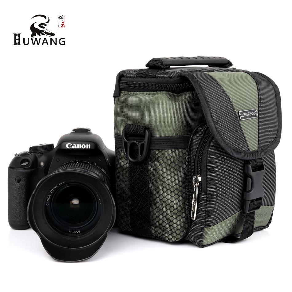 HUWANG 2018 New Hot High Quality Camera Bag For sony alpha A6000 RX100 Canon G7X Mark II M10 Nikon J5 Photo Bag Camera Backpack