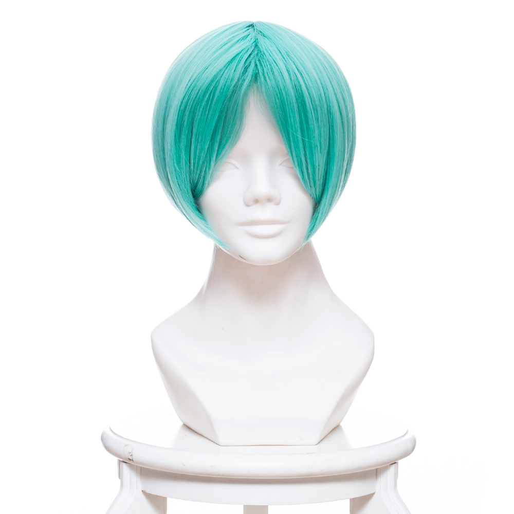 Land of the Lustrous Cosplay Wig Phosphophyllite Cosplay Wig Long Straight Synthetic Hair Cosplay Halloween Carnival for Women