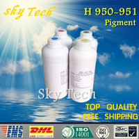 1L 4 Pigment Refill Ink Specialized Suit For Hp 950 951 High Speed Water Proof Refill