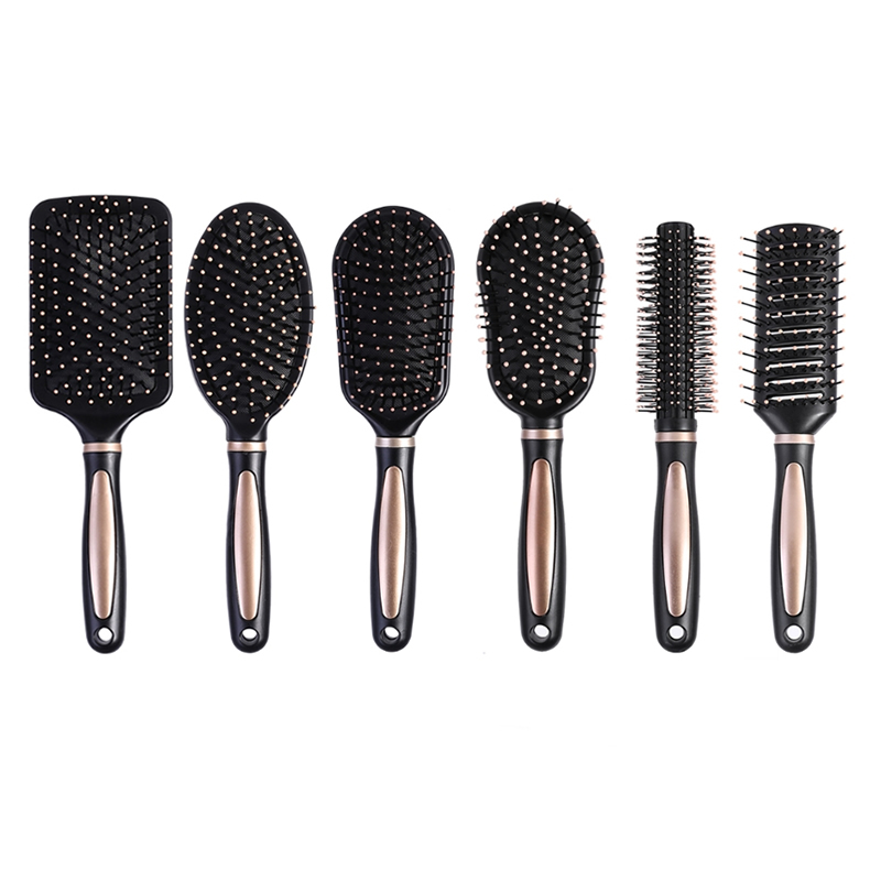 MAANGE Portable Plastic Massage Anti Static Hair Brush Comb Practical Care SPA Massager Fashion Chic Hair Care Styling Tools New
