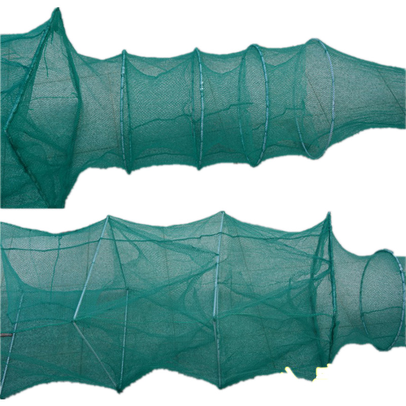 New total lenght 6M 17sections network fishing trap fishing net china pesca potes herramientas turtle crab cage shrimp net pote in Fishing Net from Sports Entertainment