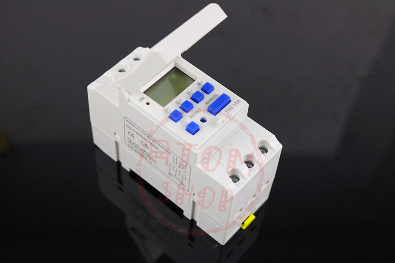 THC15A zb18B timer switchElectronic Weekly 7Days Programmable Digital TIME SWITCH Relay Timer Control AC 220V 30A Din Rail Mount 1pc electronic weekly 7 days programmable timer thc15a ahc15a digital time timer switch relay din rail ac dc 12v 24v 110v 220v