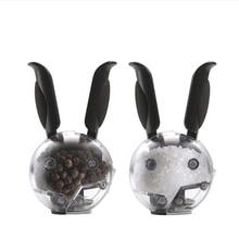 Кролик-Тип дробилка для черного перца грубой мельница для соли Кофе блок блендер