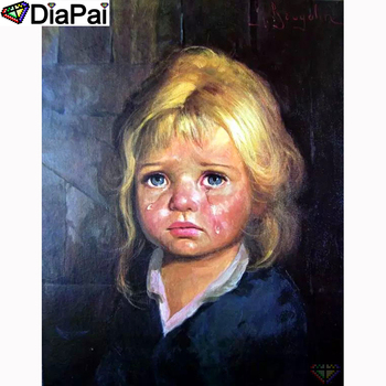 DIAPAI 5D DIY Diamond Painting 100% Full Square/Round Drill Child oil painting Embroidery Cross Stitch 3D Decor A21581
