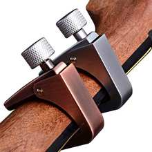 New Arrival Zinc Alloy Aroma Guitar Capo Clamp For Acoustic Electric Guitars Silver/Bronze AC-11