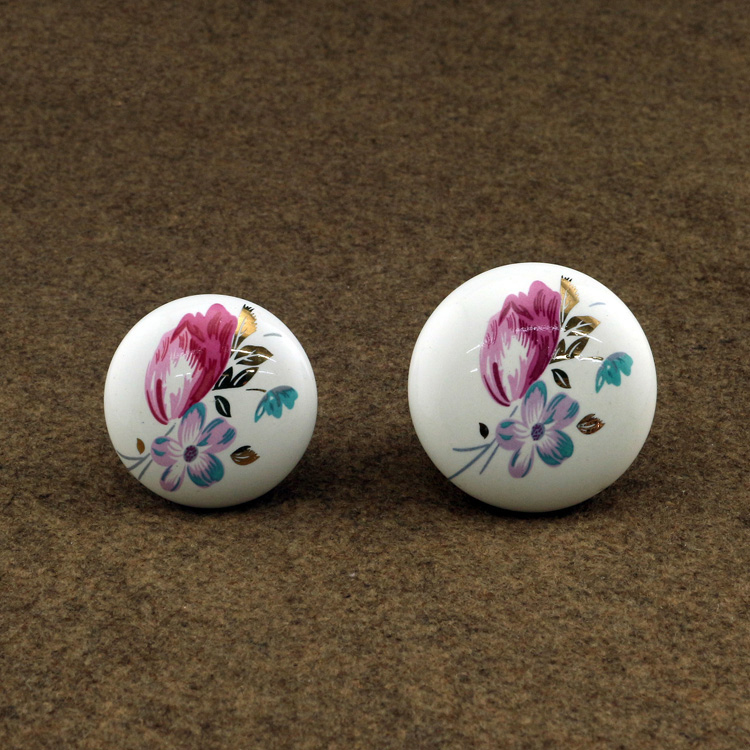kitchen cabinet Knobs ceramic drawer cupboard dresser furniture door knob handle porcelain knobs phoenix kitchen cabinet drawer knob furniture handel