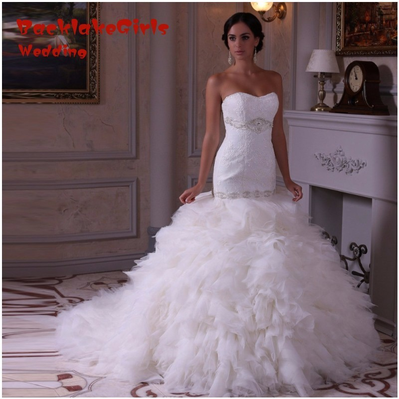 BacklakeGirls Sweetheart Mermaid Style Wedding Dress