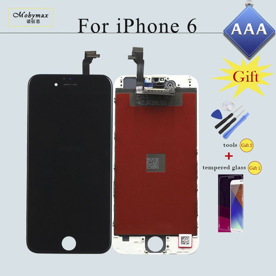 for iPhone 6 LCD Screen and Digitizer Repair Replacement Display for iPhone 7 4s Assembly Complete No Dead Pixel LCD 5S Screen