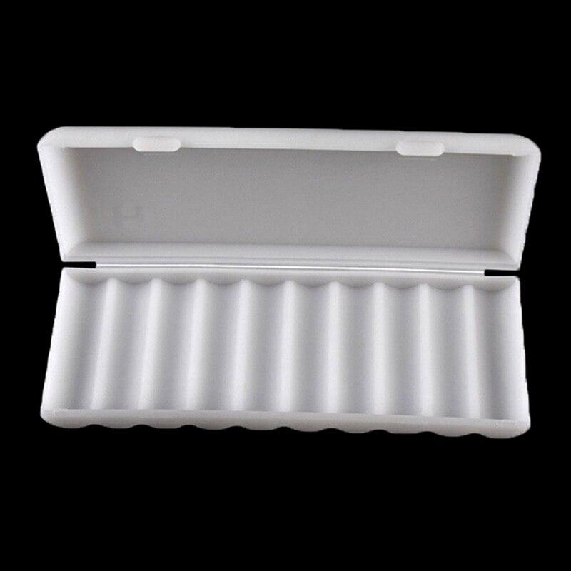 1PC Battery Holder Organizer Container 10X18650 Battery Holder Case 18650 Storage Box Holder White Hard Case Cover