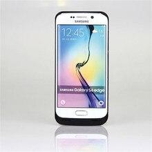 Внешний Батарея Зарядное устройство чехол для samsung Galaxy S6 edge Мощность зарядный чехол 4200 мАч для samsung S6 резервного копирования Зарядное устройство крышка