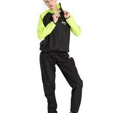 Bonverano женский потогонный костюм для сауны похудение черный светло-зеленый