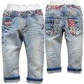 3604 frete grátis calças de brim do bebê meninos calças de brim do bebê menino denim calças calça casual crianças macias do bebê meninas de jeans crianças calças moda