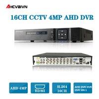 AHCVBIVN CCTV DVR 16Ch цифровой видеомагнитофон AHD 16 канальный видеорегистратор 1080 P гибридный цифровой видеомагнитофон домашней системы видеонаблю