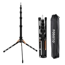 FOSOTO FT-140 Portable Led Light Tripod Stand For Camera Phone Photographic Lighting Flash Umbrellas Reflector Photo Studio