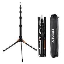 Fosoto FT-140 Portable Light Stand 1.23 M Tripod untuk Kamera Ponsel Pencahayaan Fotografi Flash Payung Reflektor Studio Foto(China)