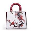 2016 Verão Saco de Impressão Bolsa das Mulheres Crossbody Sacos de Couro Pu Mulheres Bolsas Famosa Marca de Luxo Designer Floral Pochette