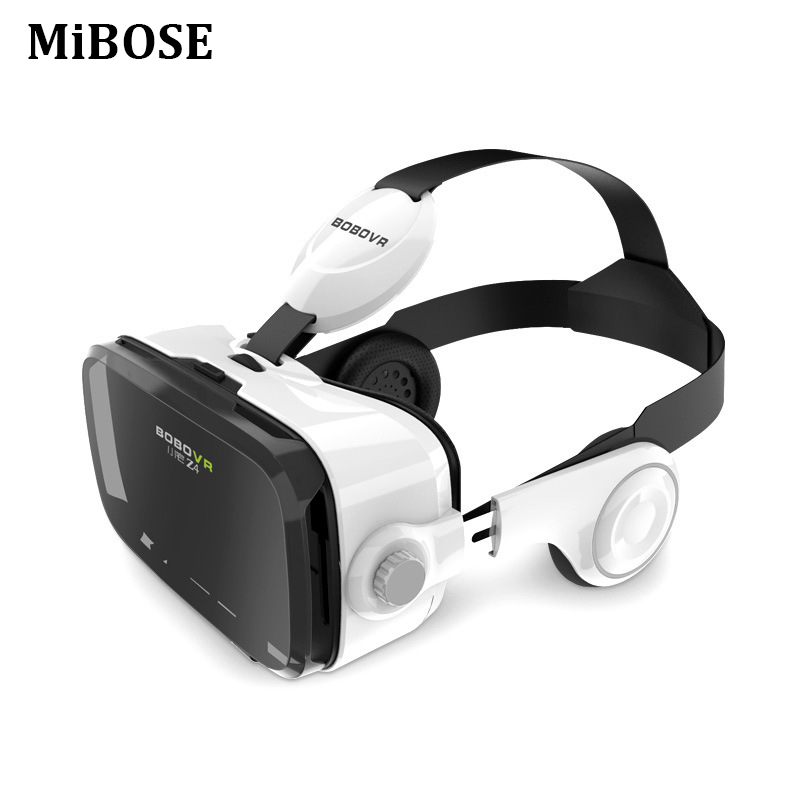 Original Leather goggles 3d Cardboard Helmet Virtual Reality VR Glasses Headset Stereo Box for 4-6 Mobile Phone for google APP