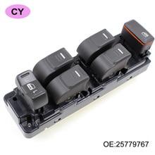 YAOPEI Frente Lado Izquierdo Maestro Elevalunas Interruptor Controlador Cambia 25779767 Para Chevrolet Colorado GMC Canyon Hummer H3 H3T