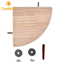 Wooden Semicircle Spring Board Small Pet Toys for Pet Hamster Chinchillas Dutch Pigs