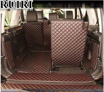 Best quality! Special trunk mats for Land Rover Discovery 4 2016-2010 7 seats durable boot carpets cargo liner mat,Free shipping