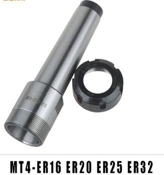 9pcs/set MT3 M12 ER32 Collet Chuck Morse Taper Holder + ER32 Spring Collets For CNC Lathe Milling Tool