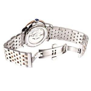 Image 5 - Reef reloj con vestido de tigre para hombre, automático, de lujo, reloj de oro rosa, fecha, día, masculino, 2020