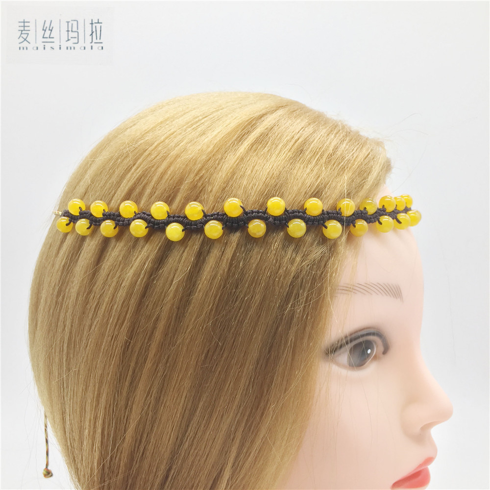 Brand Handmade Diy Jewelry Length Adjustable Fashion Women Hairwear Decoration For The Hair