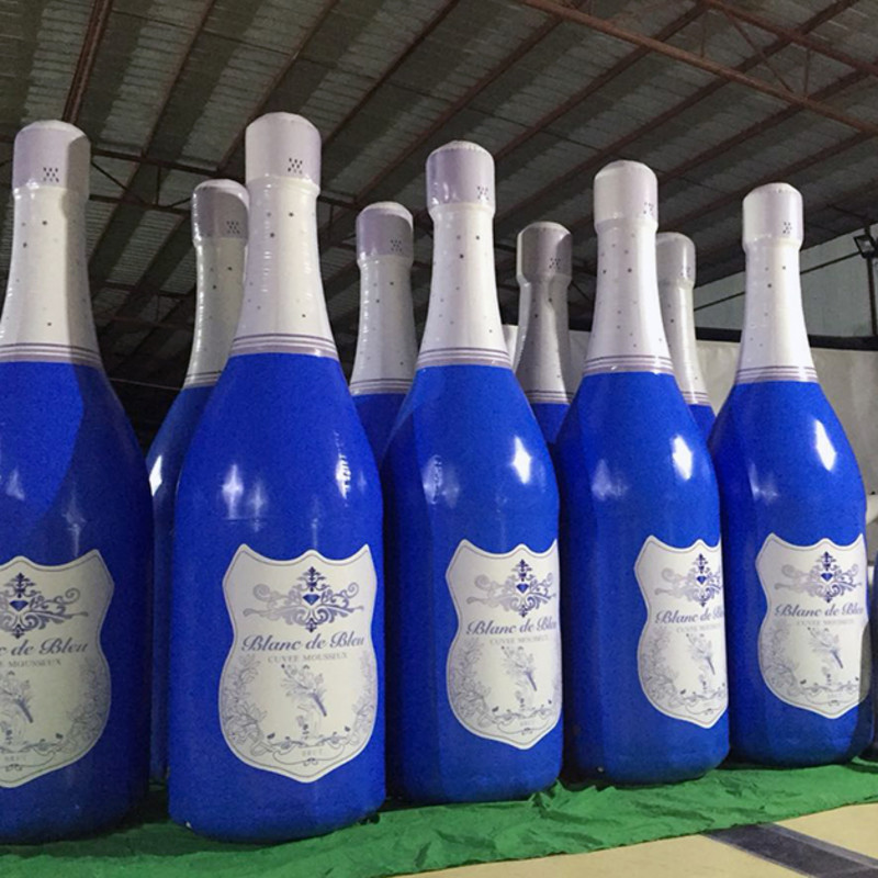 Popular Style Inflatable Advertising Products Customized Water Durable Bottle Toy customized products 30pcs cf cards