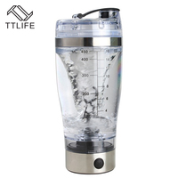 TTLIFE Hot Sale Electric Shaker Blender My Water Bottle Automatic Movement Vortex Tornado 450ml BPA Free