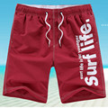 New Board Shorts Men Casual Letter Printed Beach Shorts Polyester Women Brand Clothing Plus Size M-5XL Shorts Men 7Colors