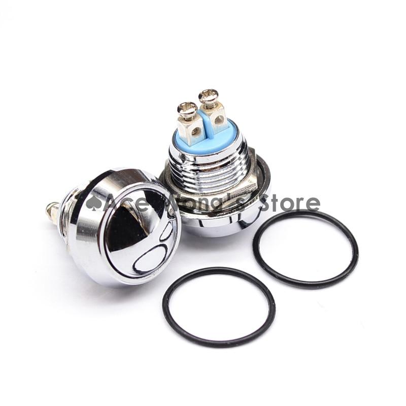12mm Start Horn Button Momentary Stainless Steel Metal Push Button Switch Hot Worldwide 卡尼路carneyroad商务休闲双肩包14英寸笔记本大容量学生书包黑色cr 637