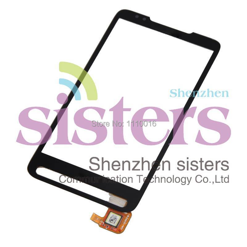 High Quality Black Touch Screen Digitizer Panel For <font><b>HTC</b></font> <font><b>HD2</b></font>/<font><b>T8585</b></font>, Free Shipping image