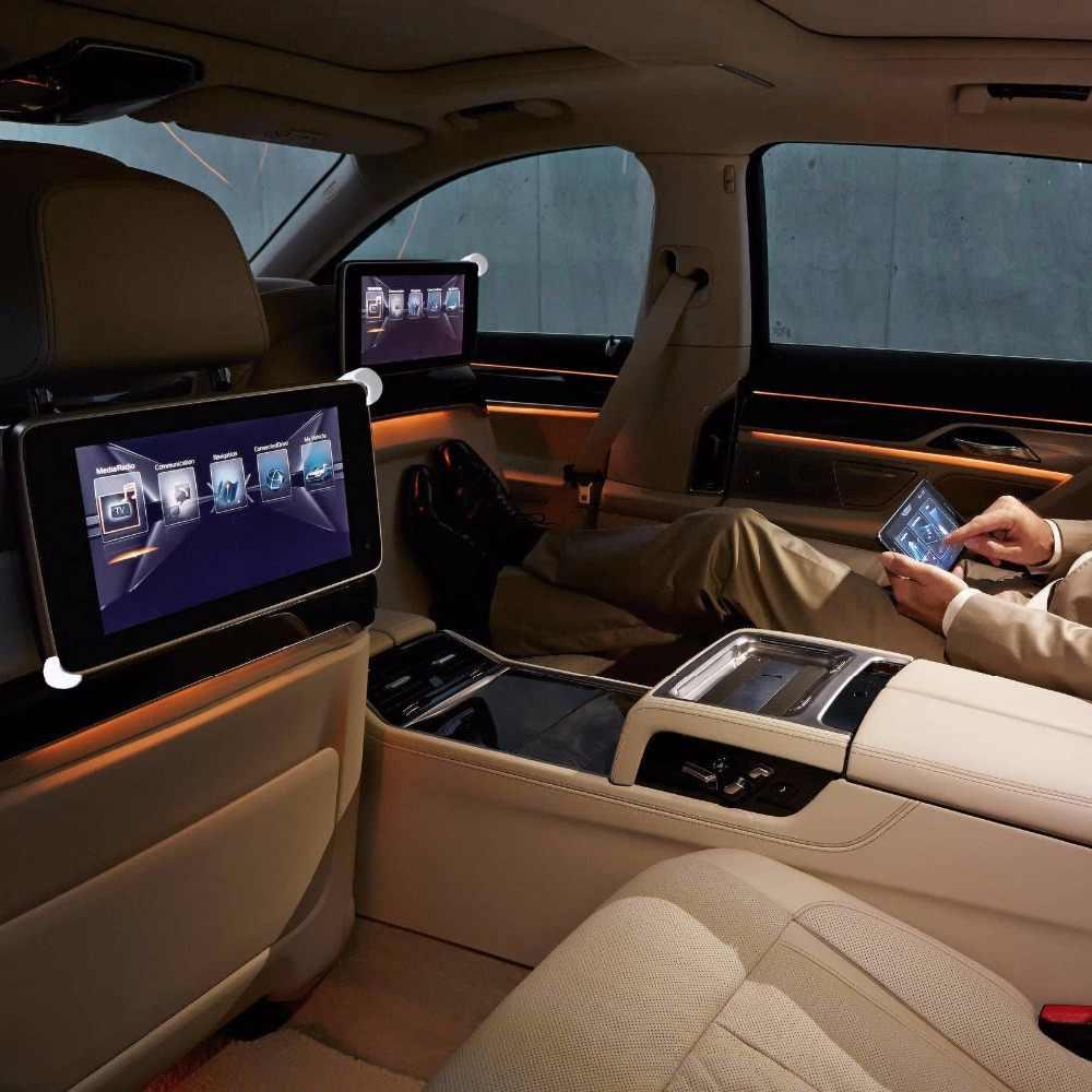 المخده جبل ل 7.0 إلى 11 بوصة حامل الجهاز اللوحي في السيارة حامل المقعد الخلفي تصاعد العالمي لباد سامسونج Xiaomi اكسسوارات السيارات