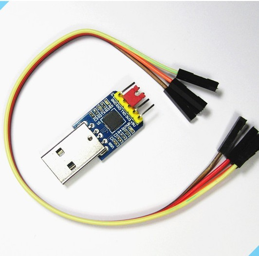 Freeshipping UART CP2102 module flash download line  USB to TTL USB turn a serial port module freeshipping uart to zigbee wireless module 1 6km cc2530 module with antenna