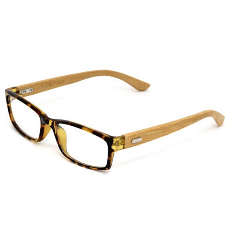 100% Handmade Natural Bamboo Eyeglasses Fine Vintage Men Women ...
