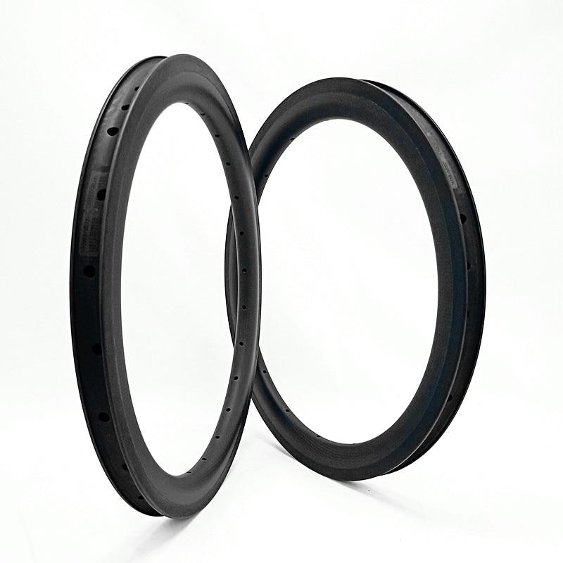 carbon rims bmx rim 20inch Folding bicycle rims 406 50x25mm clincher Folding bicycle rim bmx 20 bike wheel 330g|Rims| |  - title=