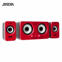 SADA D 220 Wired Speakers For Notebook Desktop PC Mini Portable USB Speaker Loudspeaker Support AUX