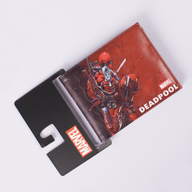 Comics DC Marvel Wallet Men Women Gift Card Holder Bags Deadpool Anime Cartoon Purse Dollar Price Leather Wallets hot cartoon anime purse carteira masculina dragon ball z sun wukong wallet dollar price men women card holder gift kids wallet