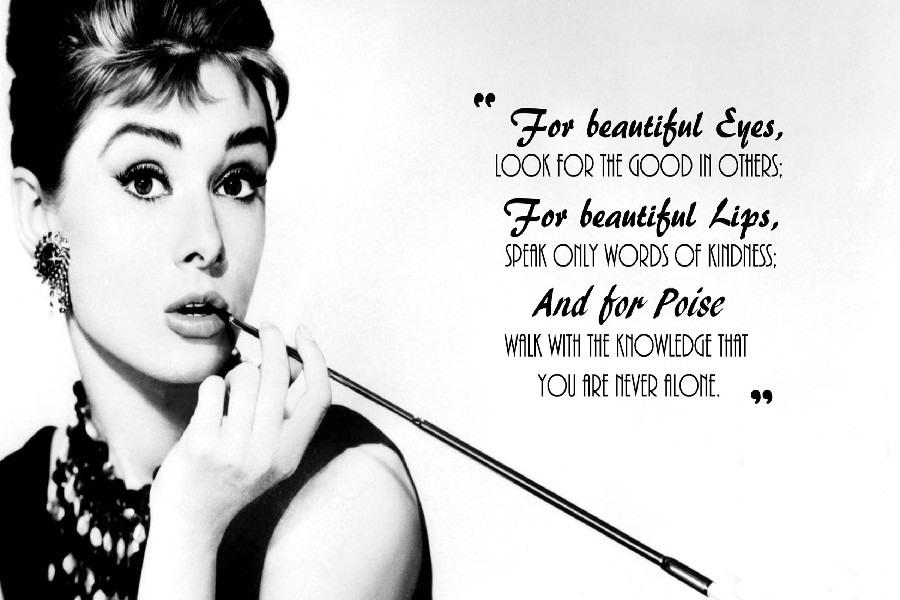 Diy Frame For Beautiful Eyes Audrey Hepburn Motivational