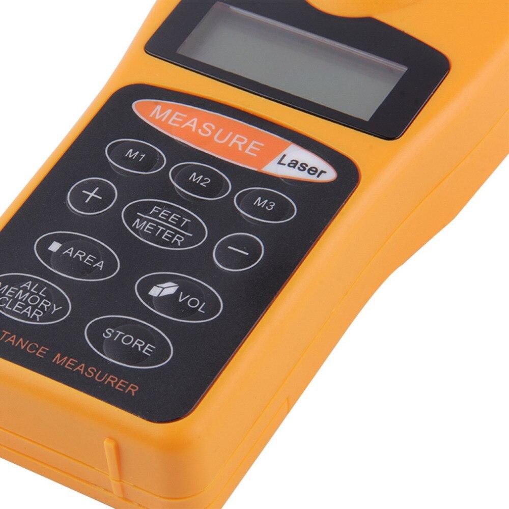 1 Pz CP-medidor trena laser telemetro laser distance meter misuratore telemetri digitale caccia laser nastro di misurazione