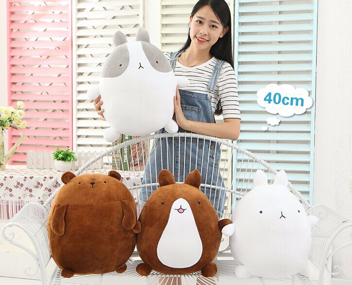 55cm molang rabbit plush potatoes bear plush toy doll children's day gifts rabbit stuffed doll teddy bear plush doll 90cm large stuffed plush rabbit toy korea long arms rabbit soft doll super cute