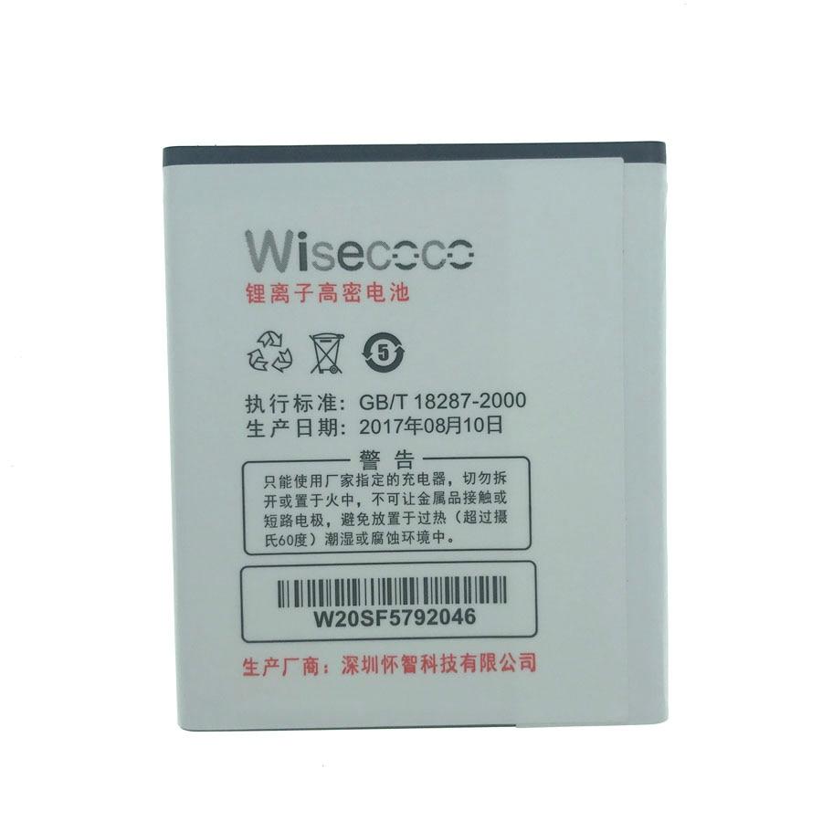 WISECOCO En Stock 100% NOUVEAU 2000 mAh Batterie Pour HONphone CHong W21 Smart Téléphone Pièces De Réparation Replaceme + suivi numbernt